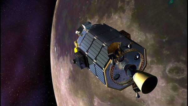 Американский зонд LADEE уже находится на окололунной орбите и собирает данные о ее газовой оболочке