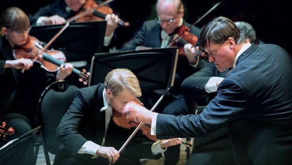 Венский филармонический оркестр, дирижер Кристиан Тилеманн