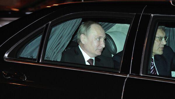 Визит В.Путина в Италию