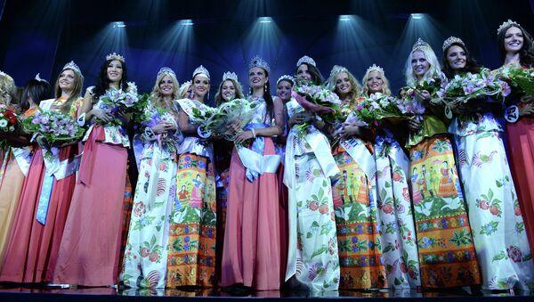 Участницы Общероссийского конкурса красоты Краса России 2013