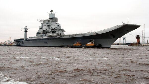 Индийский авианосец Викрамадитья покинул Северодвинск. Архивное фото