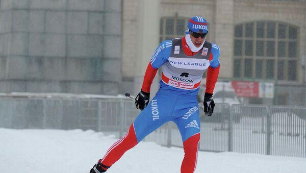 Российский лыжник Антон Гафаров. Архивное фото