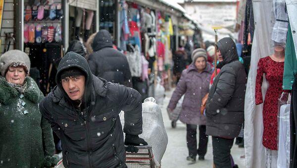 Гусинобродский рынок в Новосибирске