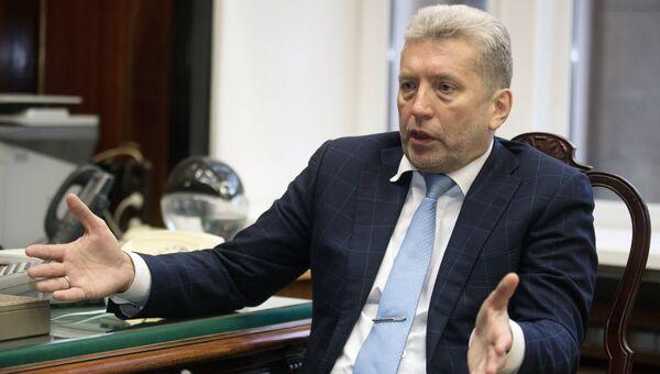 Директор Российской государственной библиотеки Александр Вислый