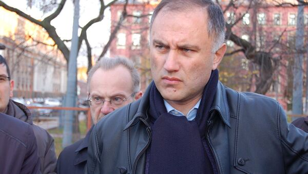 Вице-губернатор Петербурга Марат Оганесян. Архивное фото