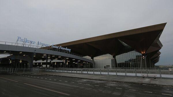 Новый терминал петербургского аэропорта Пулково. Архивное фото