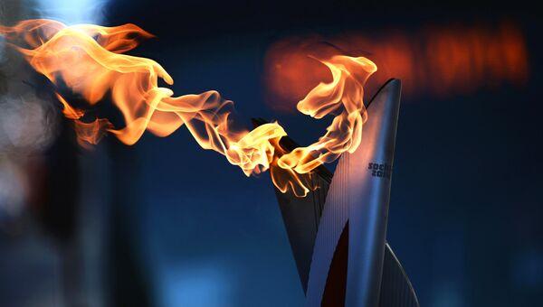 Эстафета Олимпийского огня, архивное фото