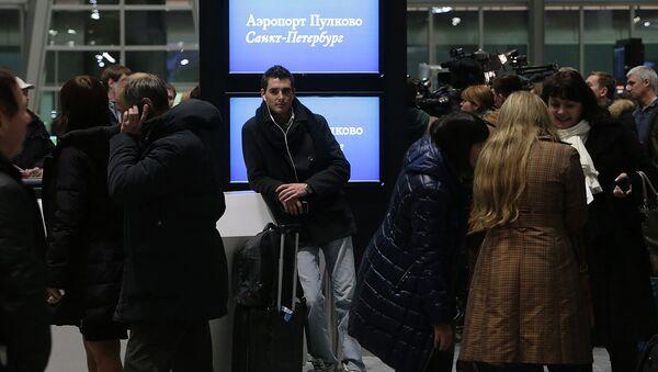 Открытие нового терминала петербургского аэропорта Пулково. Архивное фото