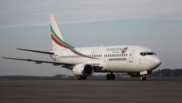 Самолет авиакомпании Татарстан. Архивное фото