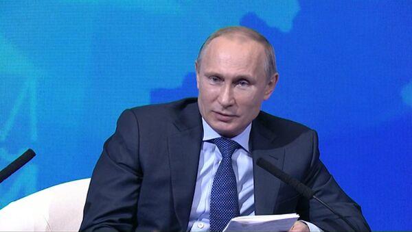 У меня тоже иногда течет ржавая вода – Путин об услугах ЖКХ в России