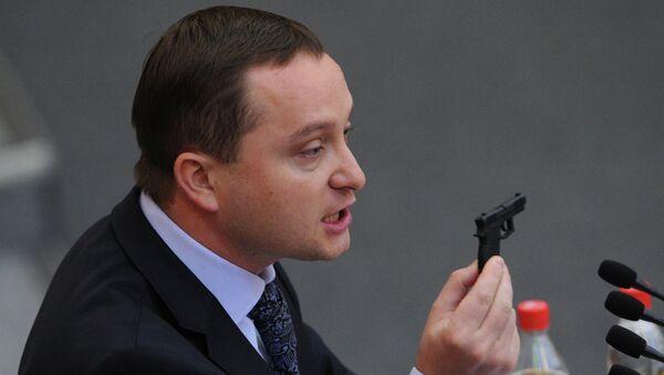 Депутат Роман Худяков. Архивное фото