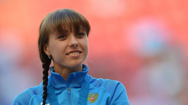 Анися Кирдяпкина. Легкая атлетика. Архивное фото.
