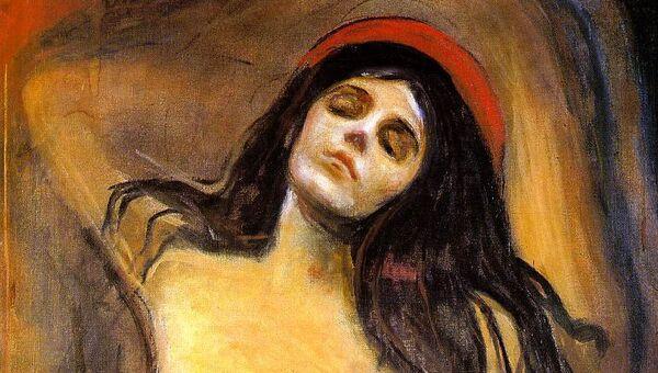 Эдвард Мунк. Мадонна. 1894