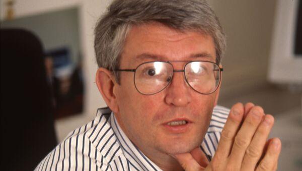 Один из основателей и руководителей журнала Эксперт Андрей Шмаров. Середина 1990-х. Архивное фото