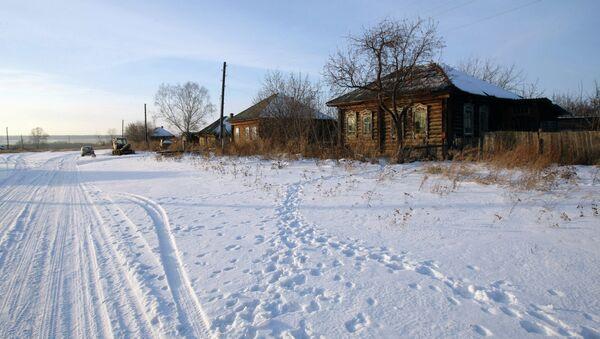 Российская деревня. Архивное фото