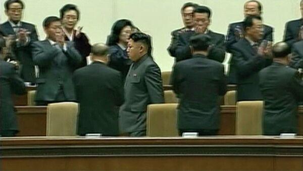 Северокорейский лидер Ким Чен Ын, архивное фото