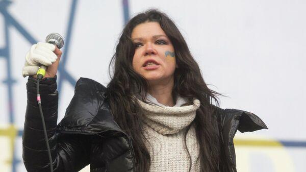Певица Руслана на митинге. Архивное фото