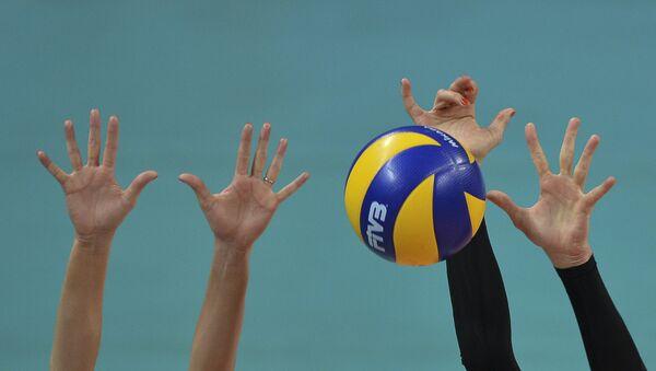 Волейбол. Архивное фото.