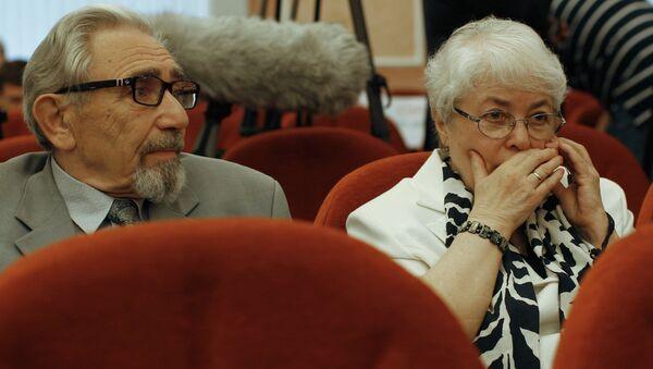 Родители Михаила Ходорковского Борис и Марина Ходорковские, архивное фото
