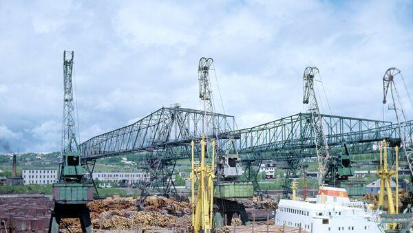 Порт Ванино, архивное фото, архивное фото