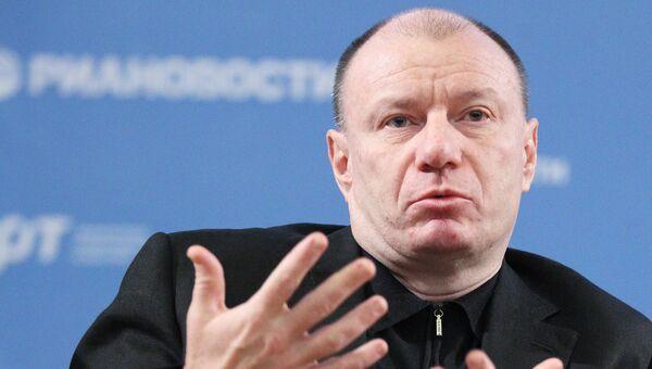 Президент компании Интеррос Владимир Потанин. Архивное фото
