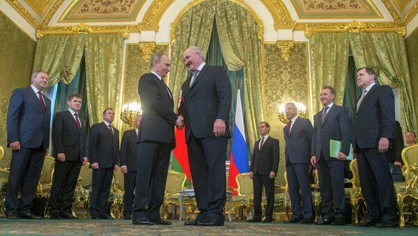 Заседание Высшего Государственного Совета Союзного государства. Фото с места события