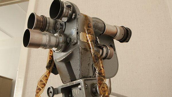 Кинокамера. Архивное фото