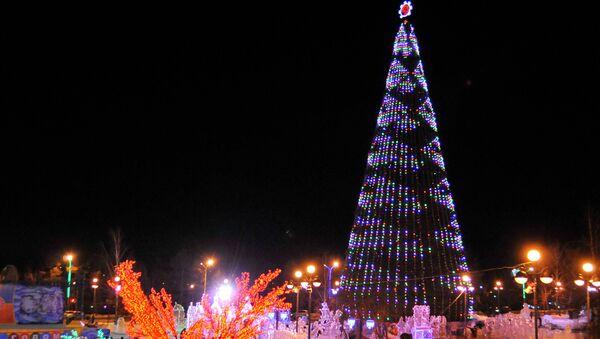 Главная городская елка Красноярска