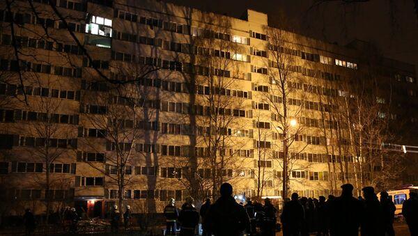 Взрыв в жилом доме в Санкт-Петербурге