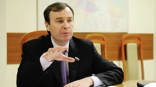 Член комитета Госдумы по бюджету и налогам Виктор Зубарев
