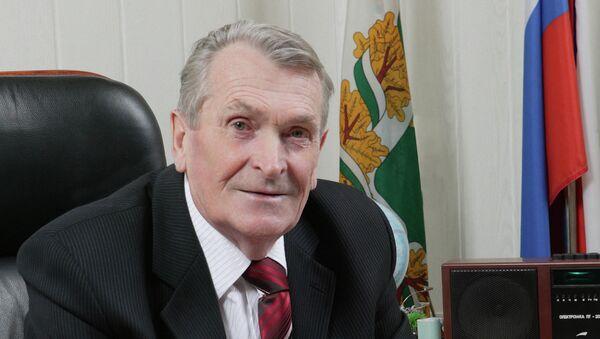 Николай Кузьменко, глава г. Северска (1984 – 2010гг.), фото из архива