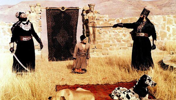 Кадр из фильма Легенда о Сурамской крепости