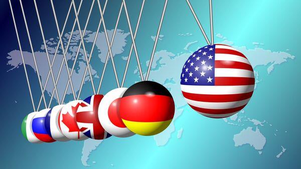 Флаги Большой восьмерки