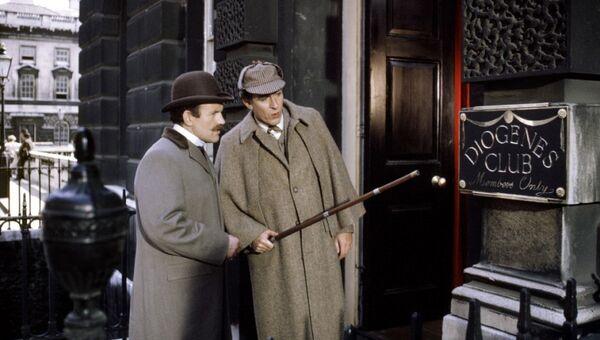 Кадр из фильма Частная жизнь Шерлока Холмса, 1970 год