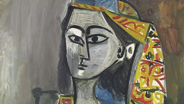Пабло Пикассо Женщина в турецком костюме, сидящая в кресле (1881-1973)