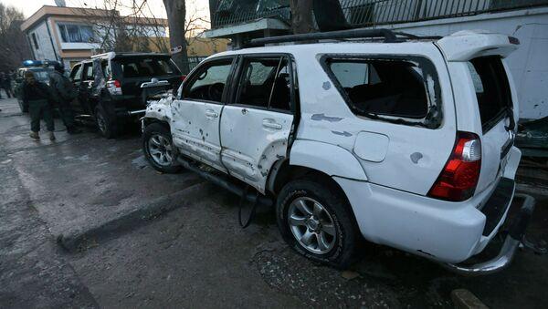 На месте взрыва в Кабуле