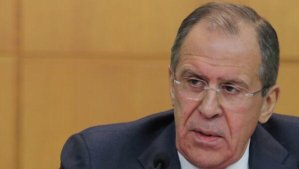 Министр иностранных дел Российской Федерации, архивное фото