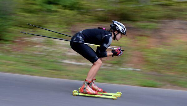 Занятия лыжников и биатлонистов в АНО СОЦ Юность. Архивное фото.