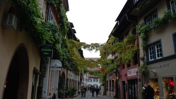 Немецкий город Фрайбург