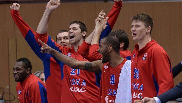 Баскетболисты ЦСКА