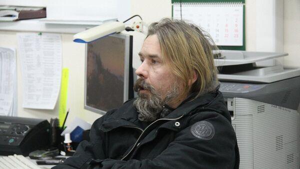 Лидер группы Коррозия металла Сергей Троицкий (Паук). Архивное фото
