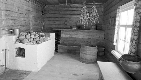 Баня, архивное фото