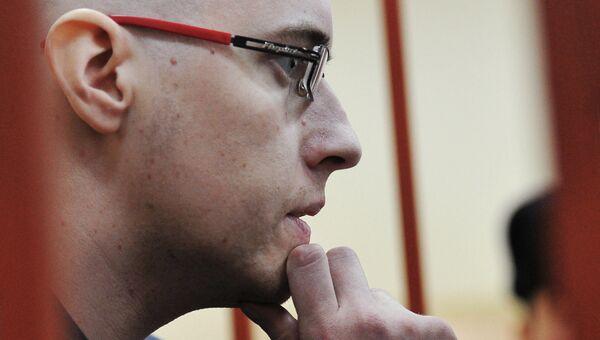 Лидер праворадикального движения Русский образ Илья Горячев. Архивное фото