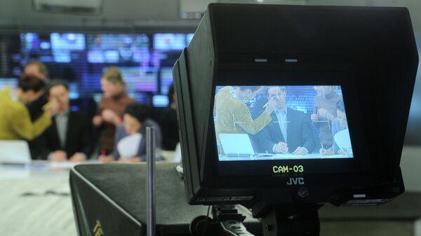 Работа телеканала Дождь, архивное фото
