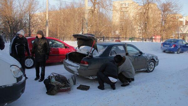 Аномальный снегопад в Ростове. Архивное фото