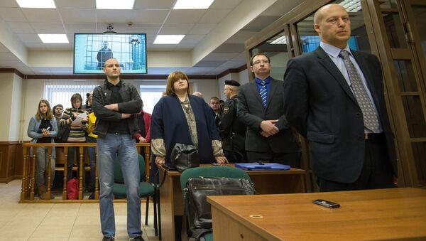Слушания по жалобе защиты оппозиционеров Сергея Удальцова и Леонида Развозжаева. Фото с места события