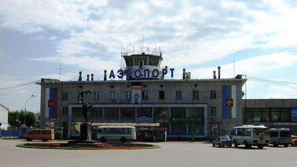 Международный аэропорт Сыктывкара. Архивное фото