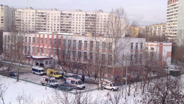 Средняя общеобразовательная школа № 263 в Москве, архивное фото