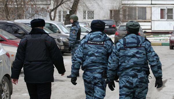 Стрельба в московской школе, фото с места события