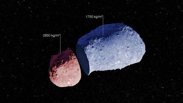 Схематический анатомический атлас астероида Итокава